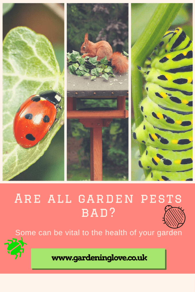 Are all garden pests bad