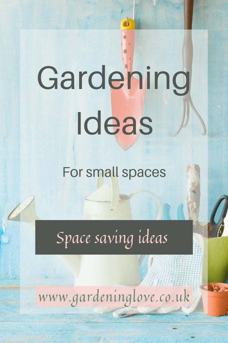 Garden ideas for small spaces. How to create a garden with limited space. Patio garden ideas, container gardening, balcony gardening. #smallgardens #smallgardenideas #smallgardendesignideas #patiogardening #containergardening #balconygardening