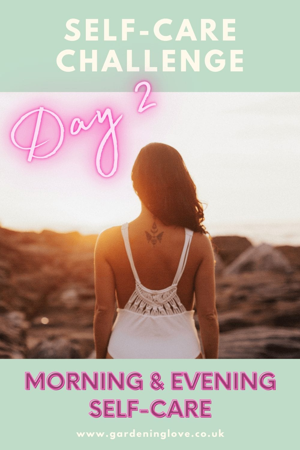self-care habit. The 7 day self-care challenge #SelfCare #Wellbeing #BestLife