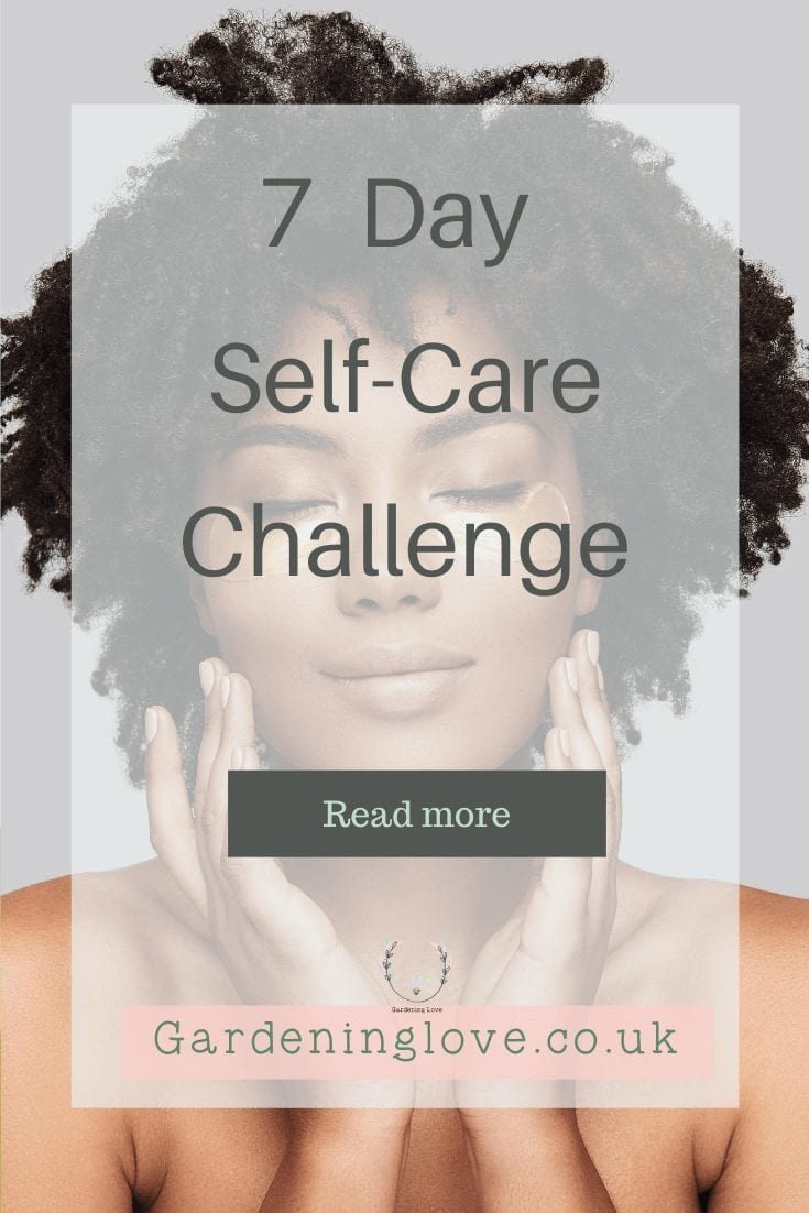 7 day self-care challenge. Learn tips and techniques to make self-care work for you/ #SelfCare #Happiness #BestLife