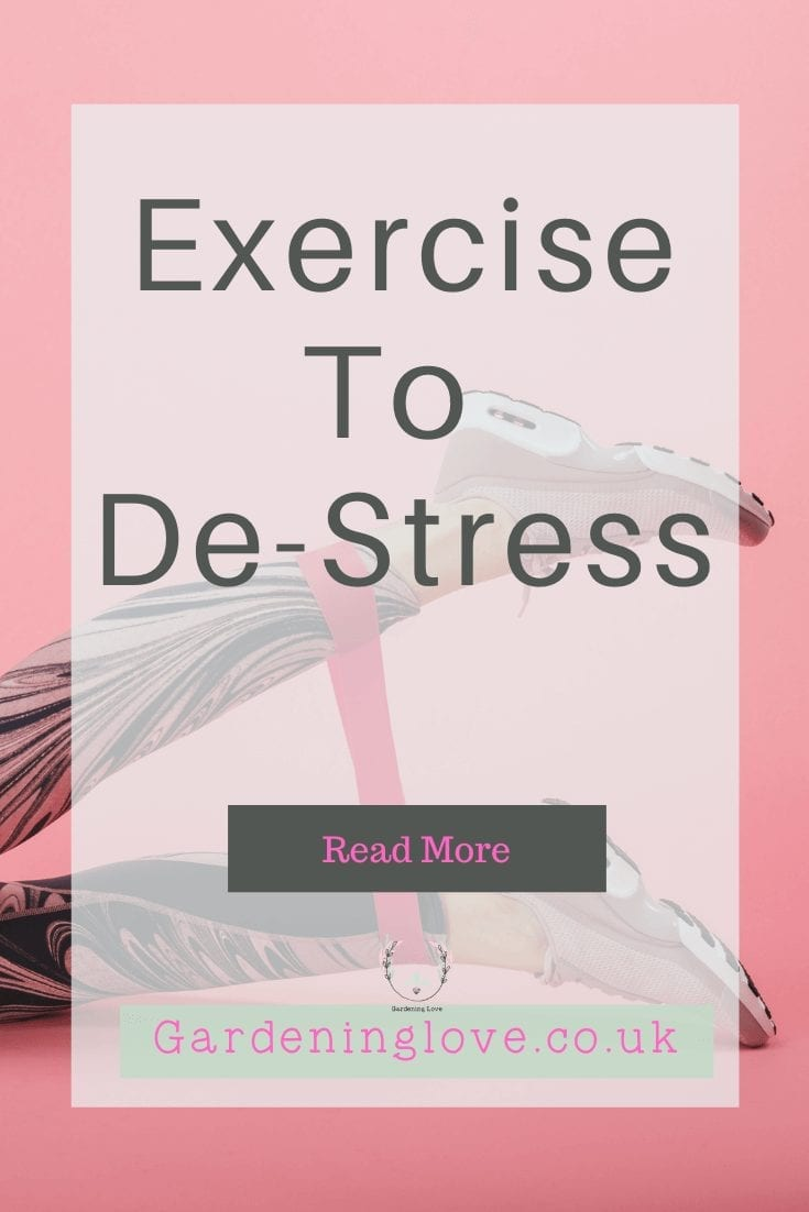 Exercise helps stress and release those feel good endorphins. Just a few simple changes to your lifestyle to get more active can make huge a difference to your stress level. Read how. #stress #exercise #health #endorphins